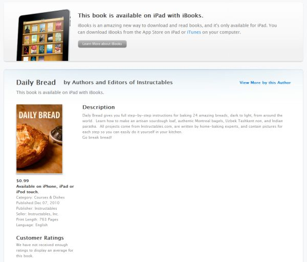 So Instructables Is Making Ebooks Now Daniel Reetz